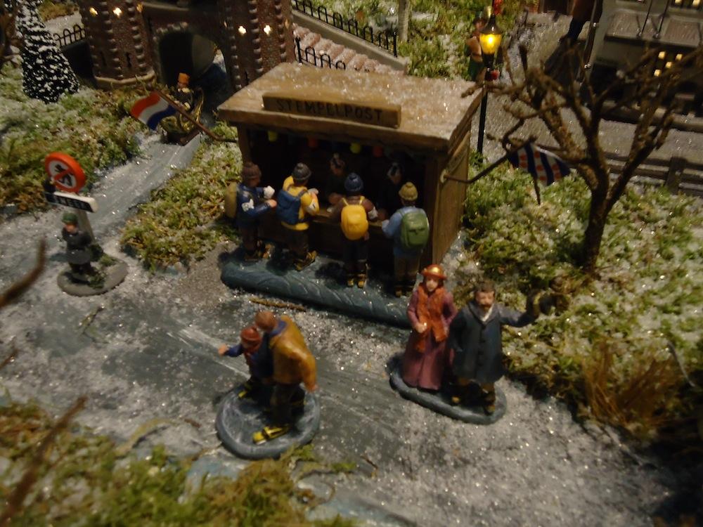 Tocht der tochten dorp