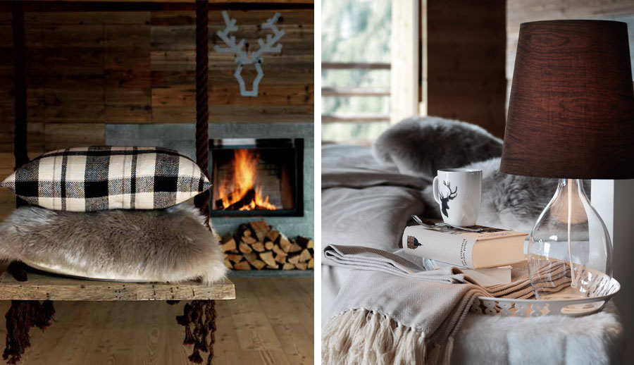 Vrolijk kerst nieuwe chalet winter collectie van ikea for Deco slaapkamer chalet